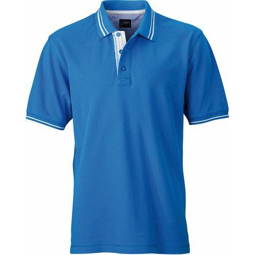 Polo fashion Homme - bleu cobalt