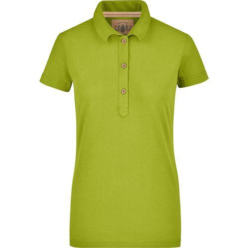 Polo fashion Femme - vert citron