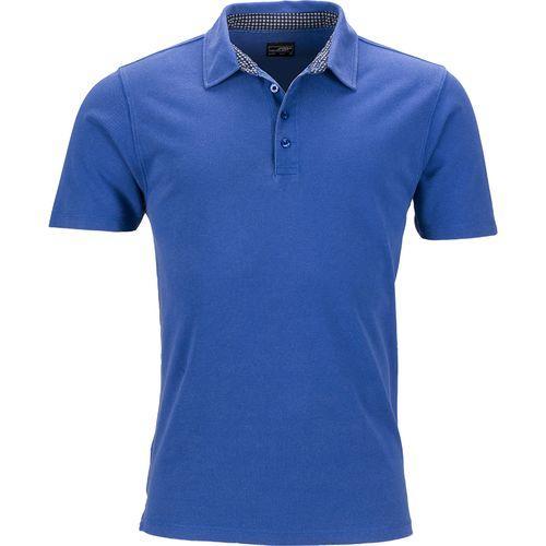 Polo fashion Homme - bleu royal