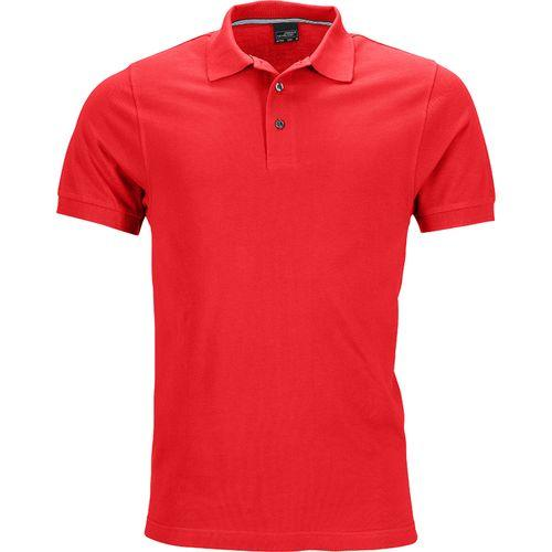Polo fashion Homme - rouge clair