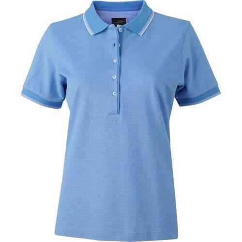 Polo fashion Femme - bleu clair
