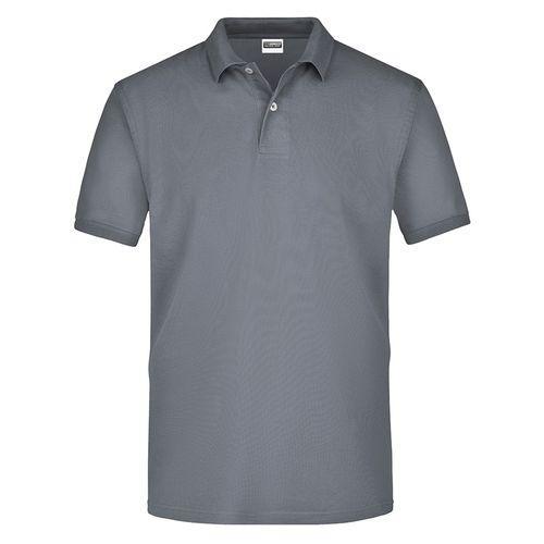 Polo classique Homme - gris moyen
