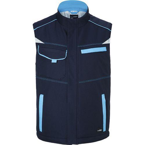 Bodywarmer hiver softshell Workwear - turquoise