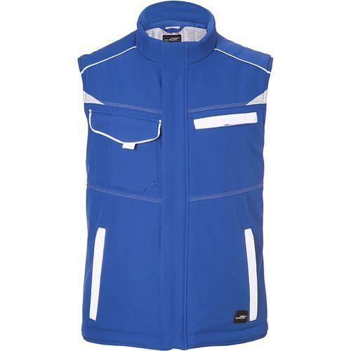 Bodywarmer hiver softshell Workwear - bleu royal