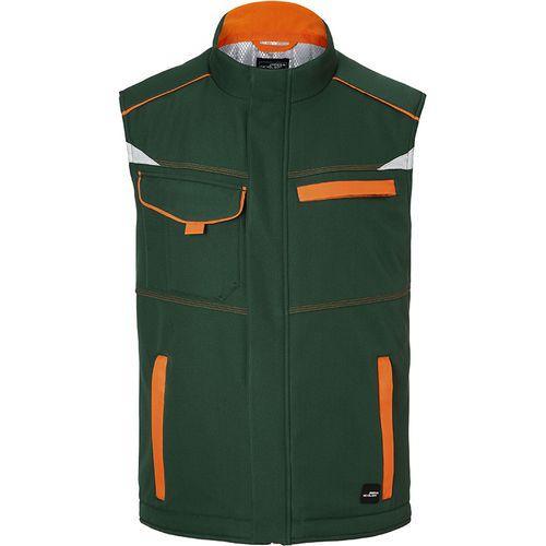 Bodywarmer hiver softshell Workwear - vert foncé
