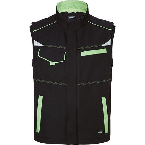 Bodywarmer softshell Workwear - vert citron