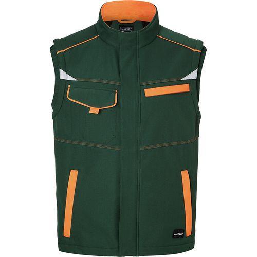 Bodywarmer softshell Workwear - vert foncé