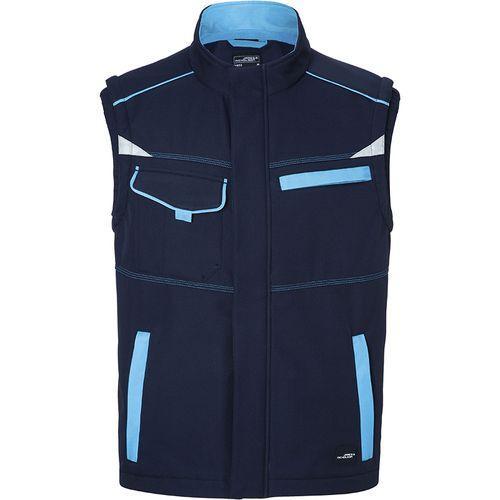 Bodywarmer softshell Workwear - turquoise