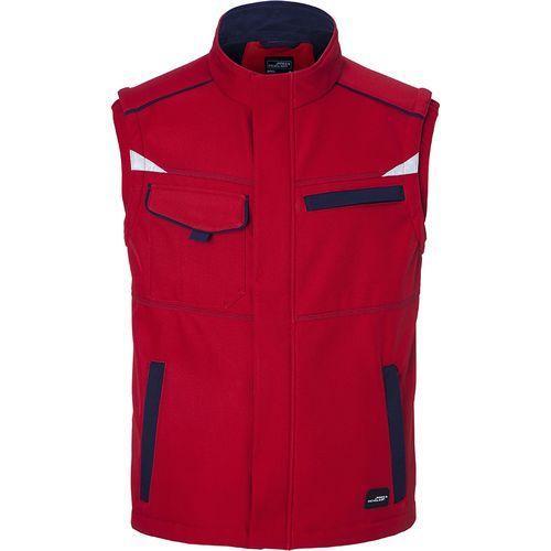 Bodywarmer softshell Workwear - rouge