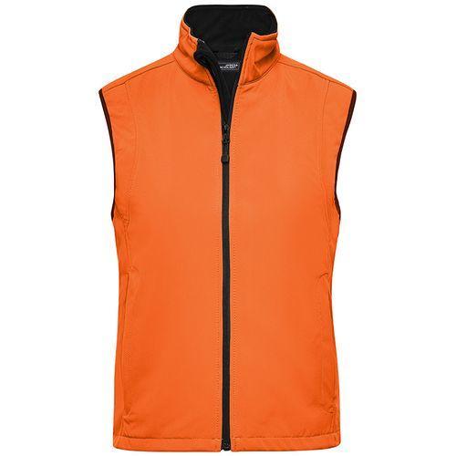Bodywarmer softshell Femme - pop orange