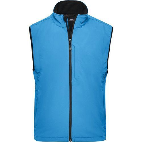 Bodywarmer softshell Homme - bleu aqua