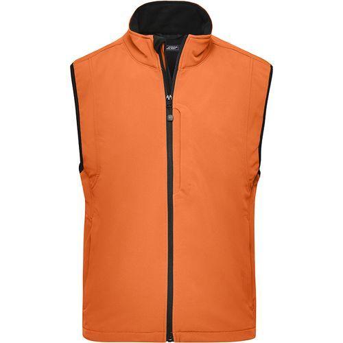 Bodywarmer softshell Homme - pop orange