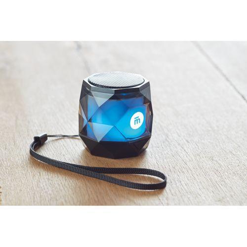 Haut-parleur Bluetooth diamant - noir