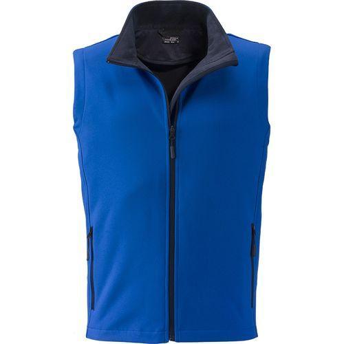 Bodywarmer softshell Homme - bleu nautique