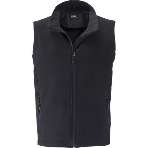 Bodywarmer softshell Homme - noir