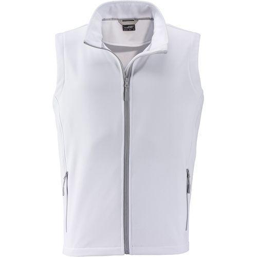 Bodywarmer softshell Homme - blanc