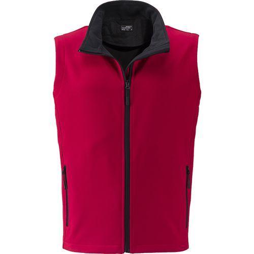 Bodywarmer softshell Homme - rouge