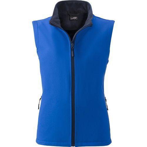 Bodywarmer softshell Femme - bleu nautique