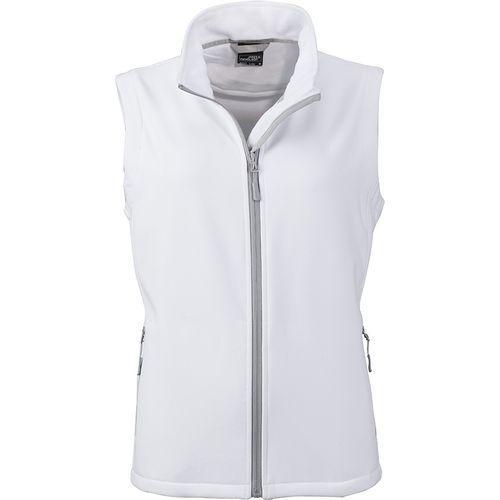 Bodywarmer softshell Femme - blanc