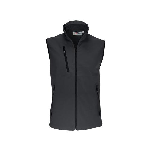 Bodywarmer Softshell Unisexe 2 Couches - gris