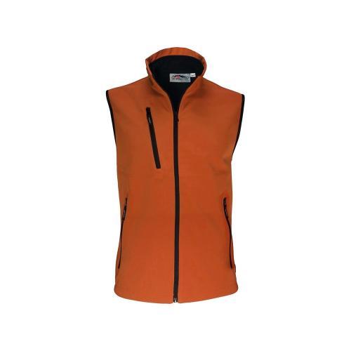 Bodywarmer Softshell Unisexe 2 Couches - orange