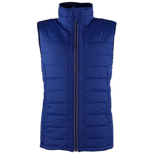 Bodywarmer Unisexe Réversible - bleu royal