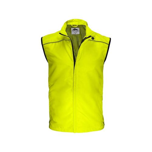 Coupe-Vent Running - jaune fluo