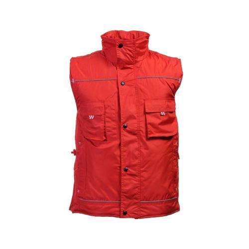 Bodywarmer Renforcé Ripstop - rouge