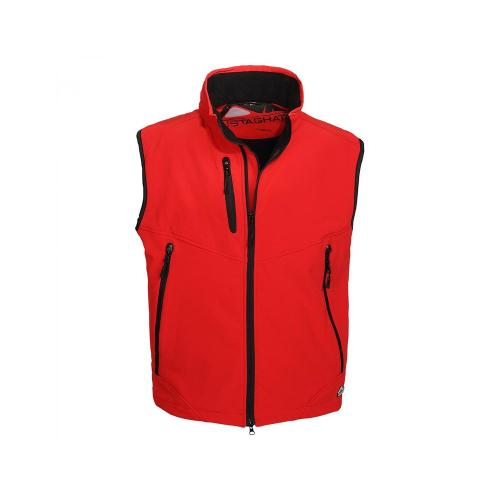 Bodywarmer Softshell 3 Couches - rouge
