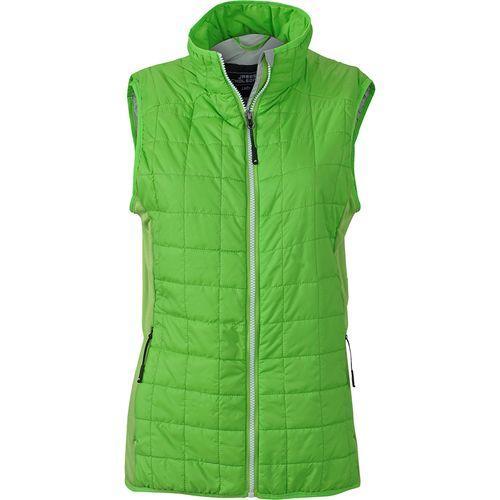 Bodywarmer matelassé Femme - vert prairie