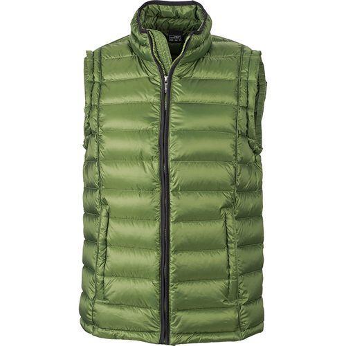 Bodywarmer matelassé hiver Homme - vert jungle