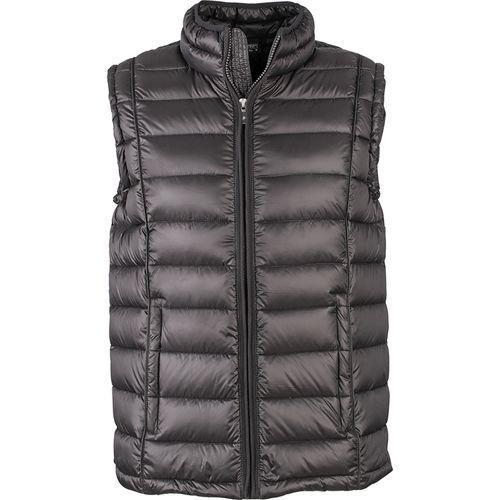 Bodywarmer matelassé hiver Homme - noir