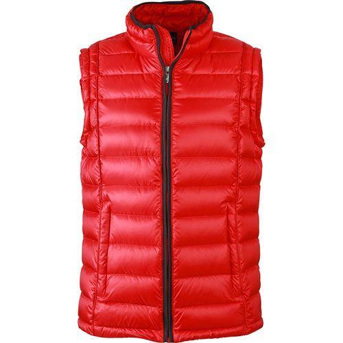 Bodywarmer matelassé hiver Homme - rouge