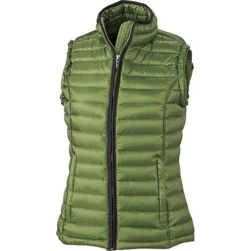 Bodywarmer matelassé hiver Femme - vert jungle