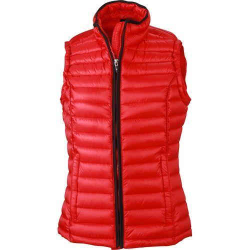 Bodywarmer matelassé hiver Femme - rouge