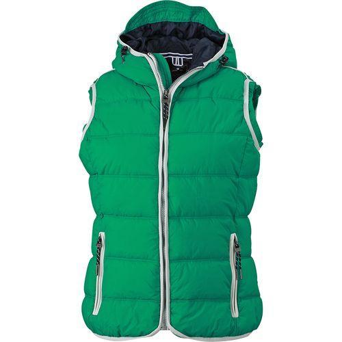 Bodywarmer matelassé Femme - vert irlandais