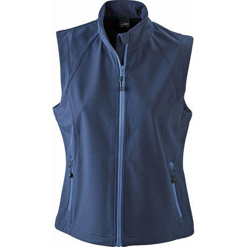 Bodywarmer softshell Femme - bleu marine