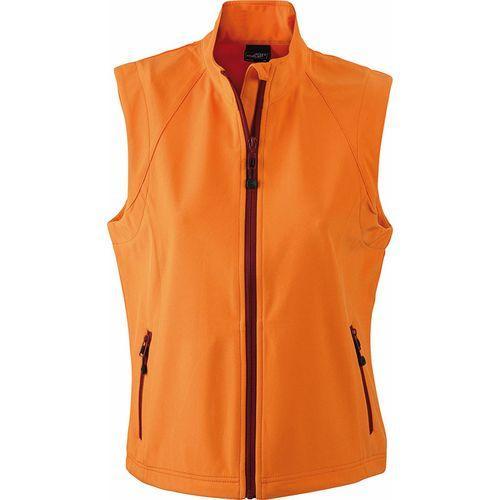 Bodywarmer softshell Femme - orange