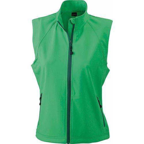 Bodywarmer softshell Femme - vert
