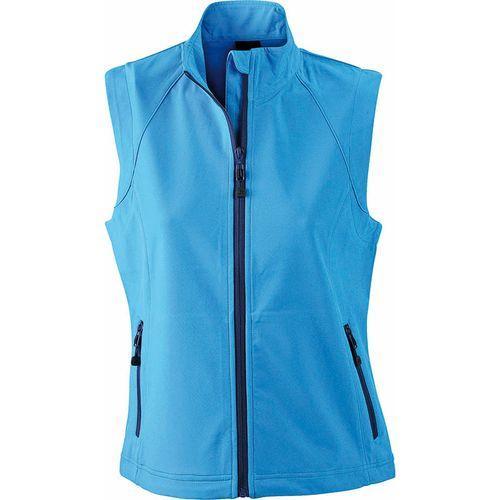 Bodywarmer softshell Femme - bleu azur