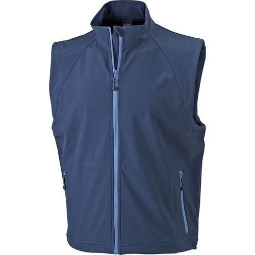 Bodywarmer softshell Homme - bleu marine