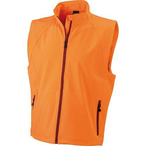 Bodywarmer softshell Homme - orange