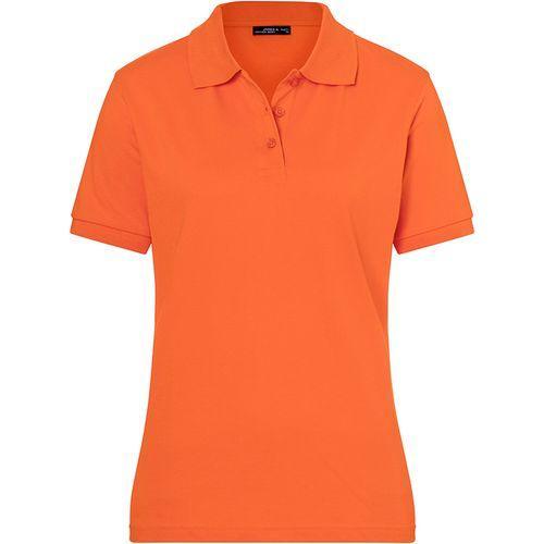 Polo classique Femme - orange foncé