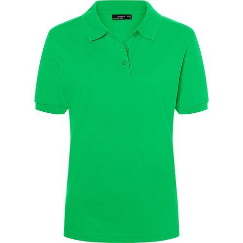 Polo classique Femme - vert fougère
