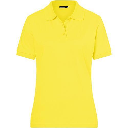Polo classique Femme - jaune