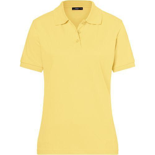 Polo classique Femme - jaune clair