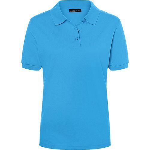 Polo classique Femme - bleu aqua