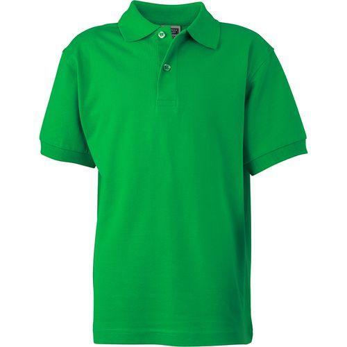 Polo classique Enfant - vert fougère