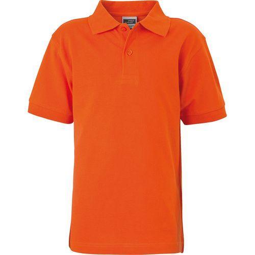 Polo classique Homme - orange foncé