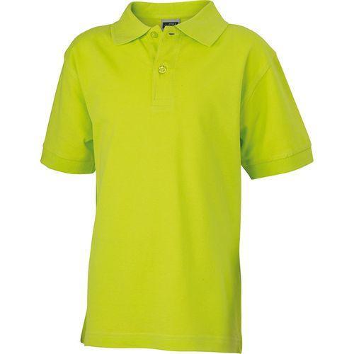 Polo classique Homme - jaune acide